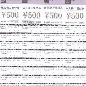 [3387]クリエイト・レストランツ・ホールディングス 株主優待