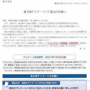 [3391]ツルハホールディングス 株主アンケート