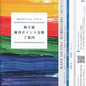 [4636]T&K TOKA 株主優待選択