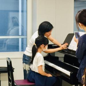 小学生のためのピアノ脱力法メソッド☆キッズ親子セミナー@東京でした