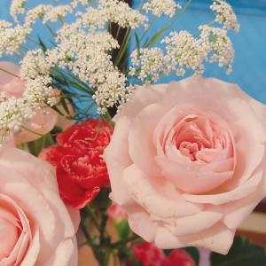 花を飾って心を癒す日