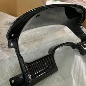 日産フェアレディZ32 内装パーツリアルカーボン加工しました。①
