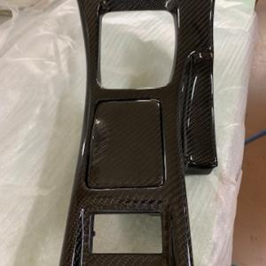 日産フェアレディZ32 内装パーツリアルカーボン加工しました。②