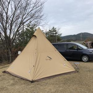 年末キャンプ1部@くつわ池