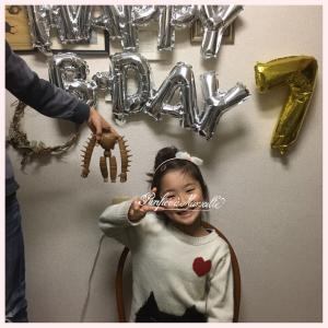 yui  7歳誕生日