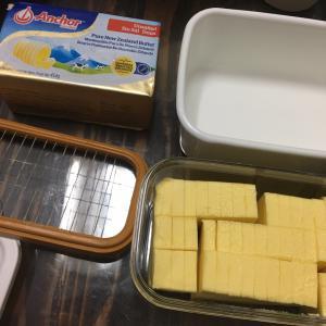 おうちごはん、クロックムッシュ、バター
