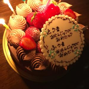 誕生日おめでと