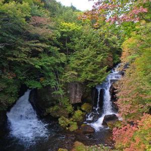 GoToで那須塩原と日光旅行~中禅寺湖と龍頭の滝~