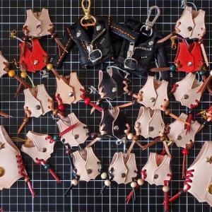 北海道ツーリングでプレゼントするミニミニサイズのベストがいっぱい