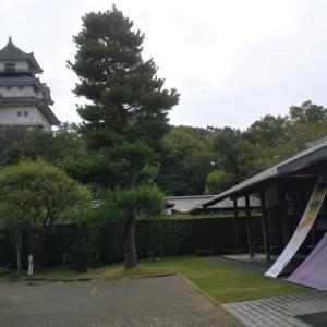 諏訪原城崩れ?と倉沢 掛川西の丸美術館