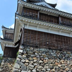 一度で二つの妙 城と墓石 特筆は石垣 福知山城