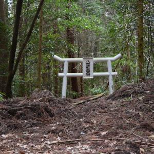 奈良 峠の八大龍王大神鳥居周辺は不法投棄のメッカ