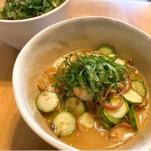 【レシピ】さば味噌缶とヤマサこれ!うま!!つゆでかんたん冷や汁