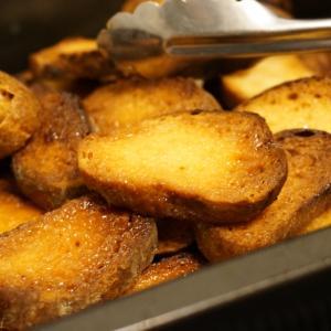 【レシピ】バター不使用!失敗したパンも復活なジンジャーシュガーラスク