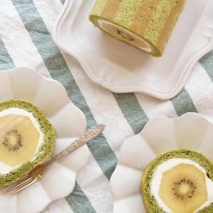 【レシピ】キウイキウイキウイは最高〜キウイまるごとロールケーキ