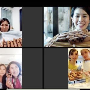 【オンラインレッスン30】女の子に人気の菓子パンもおうちパンなら簡単!チョコスティックパンで