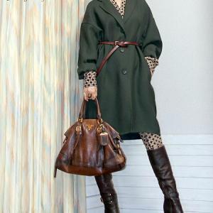 【UNIQLO】一枚仕立てコートをジャケット風にエッジコーデ♪