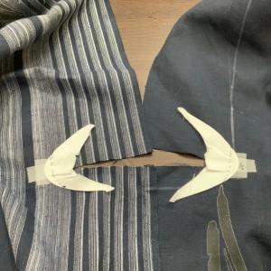 浴衣を縫い縫い。その9