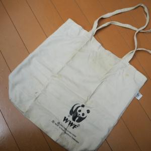マイバッグにあずま袋を。