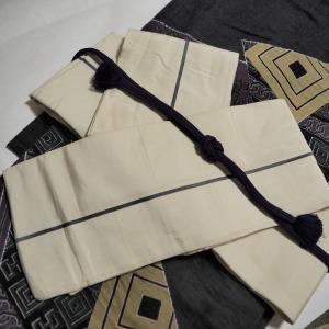 本麻の羽織、買った♪