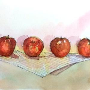 紅玉(りんご)の味
