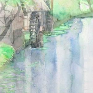 安曇野・水車小屋