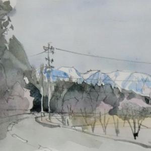 木曽駒連山