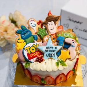 トイストーリーバースデーケーキ