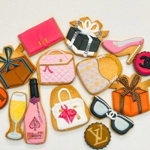 ブランド大好きファッションクッキーとアイシングクッキーキットの準備
