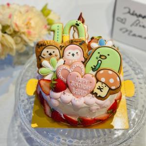 『すみっこぐらし』バースデーケーキ