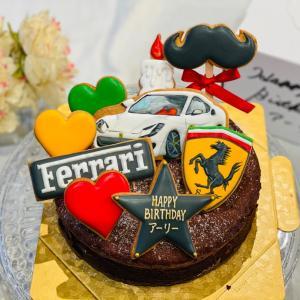 『Ferrari』バースデーガトーショコラ