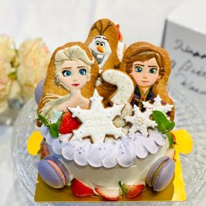 兄妹バースデーケーキ