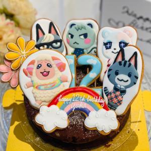 あつまれどうぶつの森バースデーケーキ達