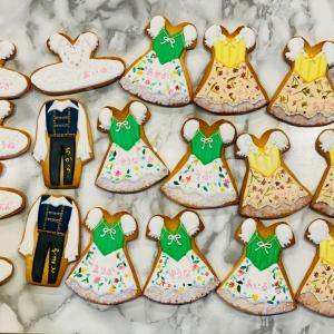初バレエの発表会頑張ってアイシングクッキー