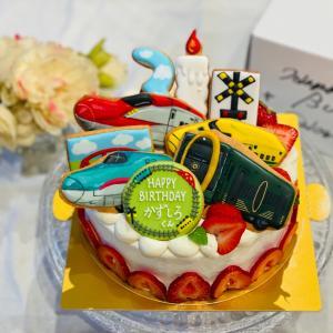 『プラレール』バースデーケーキ
