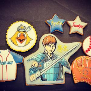 ソフトバンク『柳田選手』キングダムアイシングクッキーとワクチン接種