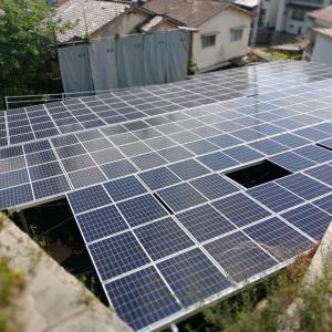 太陽光発電所・7号基が呉で売電を開始