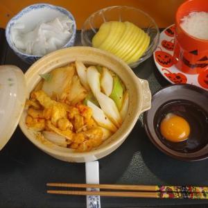 キムチ鍋・・おいしいワン