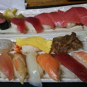 ショウ君 誕生日蔵寿司テイクアウト寿司・・・美味しいワン