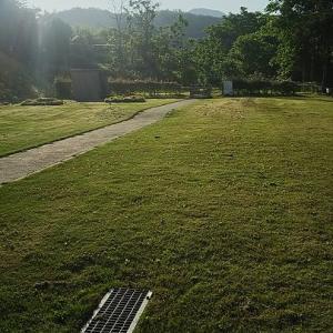 盛岡霊園・・・芝刈り・・2日目