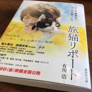 旅猫リポートを読む。