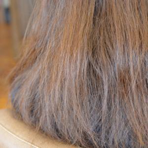髪の体力を取り戻して可愛くデジタルパーマと縮毛矯正…NODIA(ノジア)もね