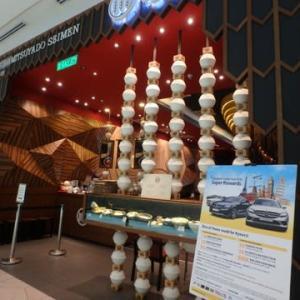 日本の濃厚つけ麺ってここですか「三ツ矢堂製麺」マレーシア 。やっと行ってきたThe Starling Mall店