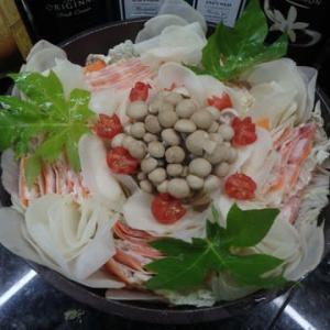 マレーシアで「ミルフィーユ鍋」(豚肉と野菜の重ね煮鍋)を作った。今回は1人前づつ2個。