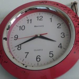 10年間、壊れていない「安時計」に感謝!それは「イケア」の時計。