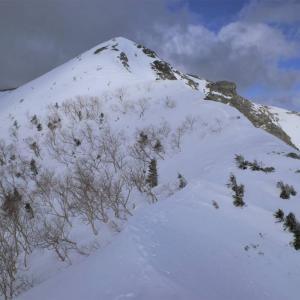 【南アルプス】烏帽子岳 三伏峠避難小屋泊 雪山登山