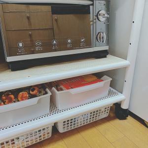 キッチン収納^ ^勝手にキャスター祭り