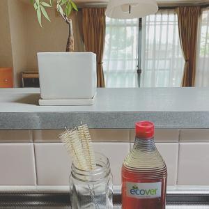 植物由来だけど泡立ちがいい♪エコベール 食器用洗剤 ザクロ