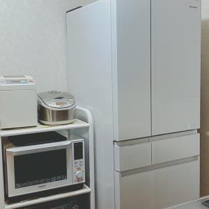 ようこそ!新しい冷蔵庫^ ^