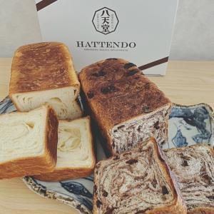 八天堂のとろける食パン♪バターの香りと甘みが絶妙